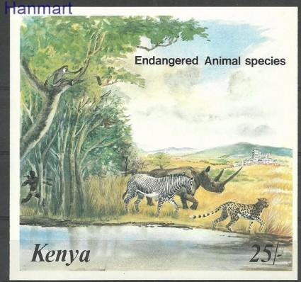 Znaczek Kenia 1985 Mi bl 26 Czyste **