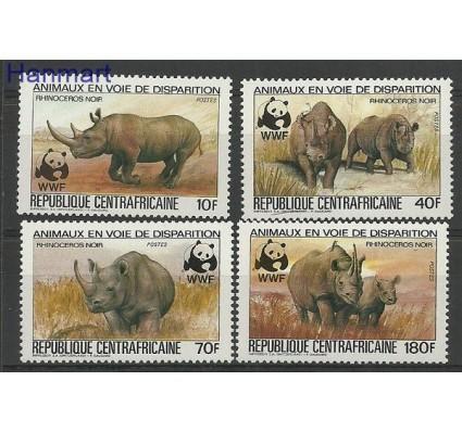 Znaczek Republika Środkowoafrykańska 1983 Mi 985-988 Czyste **