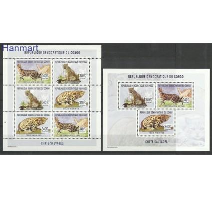 Znaczek Kongo Kinszasa / Zair 2003 Mi 1752-1754 Czyste **