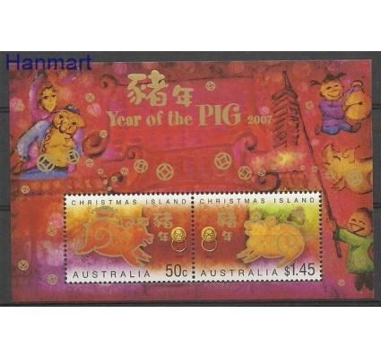 Znaczek Wyspa Bożego Narodzenia 2007 Mi bl 21 Czyste **