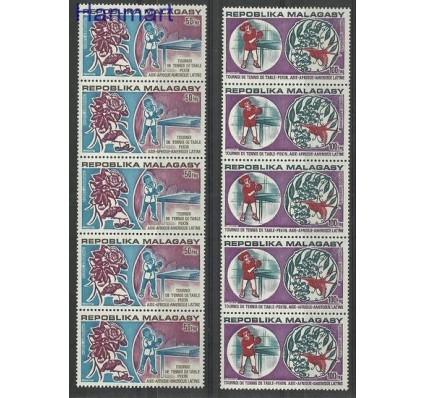 Znaczek Madagaskar 1974 Mi 710-711 Czyste **