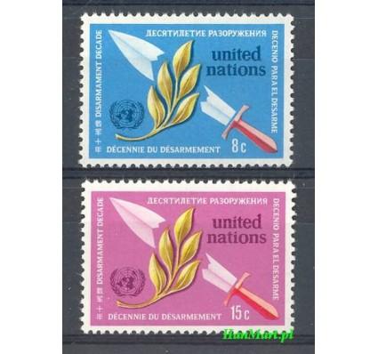 Znaczek Narody Zjednoczone Nowy Jork 1973 Mi 254-255 Czyste **