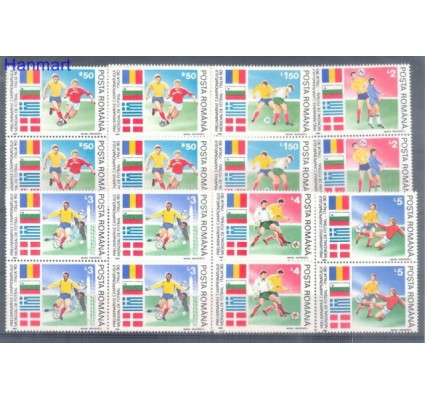 Znaczek Rumunia 1990 Mi 4586-4591 Czyste **