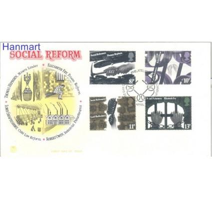 Znaczek Wielka Brytania 1976 FDC
