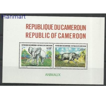 Znaczek Kamerun 1991 Mi bl 31 Czyste **