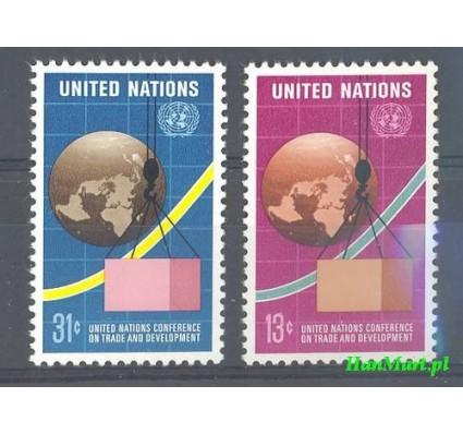 Znaczek Narody Zjednoczone Nowy Jork 1976 Mi 295-296 Czyste **
