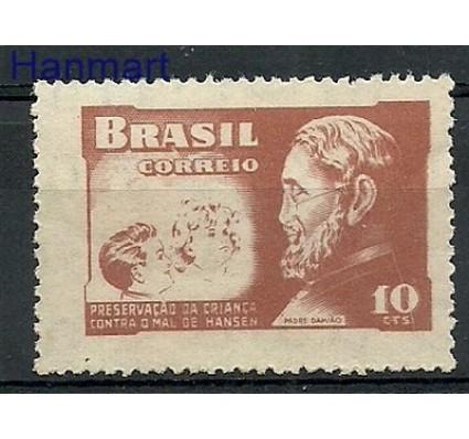 Znaczek Brazylia 1952 Mi zwa 3 Czyste **