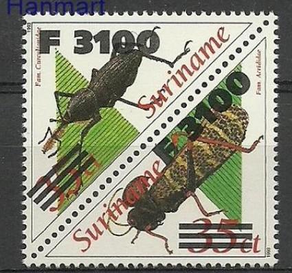 Znaczek Surinam 2000 Mi 1760-1761 Czyste **