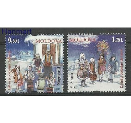 Znaczek Mołdawia 2015 Mi 941-942 Czyste **