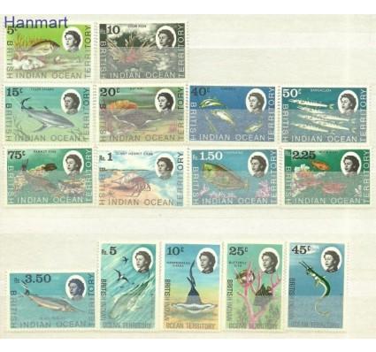 Znaczek Brytyjskie Terytorium Oceanu Indyjskiego 1968 Mi 16-30 Czyste **
