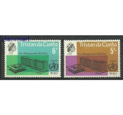 Znaczek Tristan da Cunha 1966 Mi 102-103 Czyste **