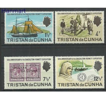 Znaczek Tristan da Cunha 1971 Mi 153-156 Czyste **
