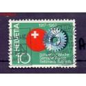 Szwajcaria 1967 Stemplowane