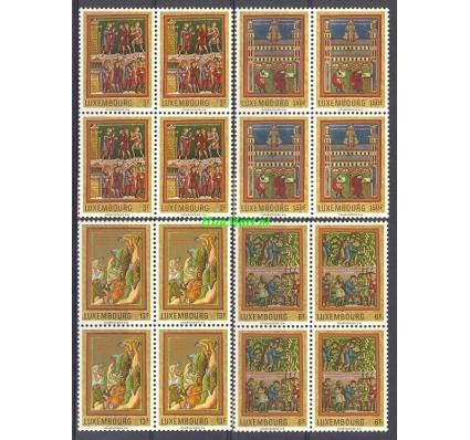 Znaczek Luksemburg 1971 Mi 820-823 Czyste **