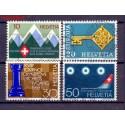 Szwajcaria 1968 Stemplowane
