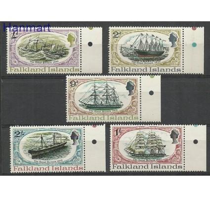 Znaczek Falklandy 1970 Mi 187-191 Czyste **