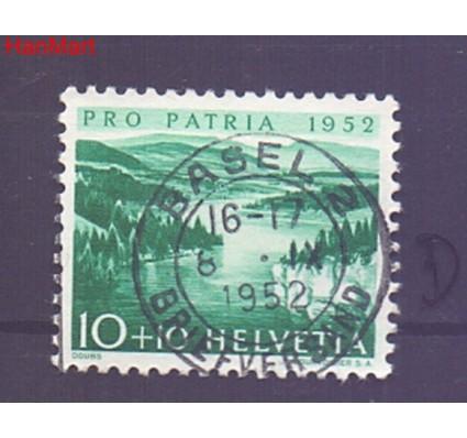 Znaczek Szwajcaria 1952 Stemplowane