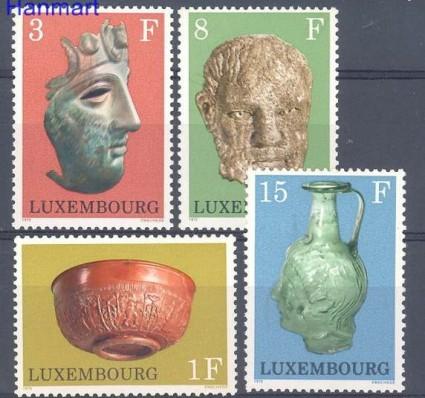 Znaczek Luksemburg 1972 Mi 842-845 Czyste **