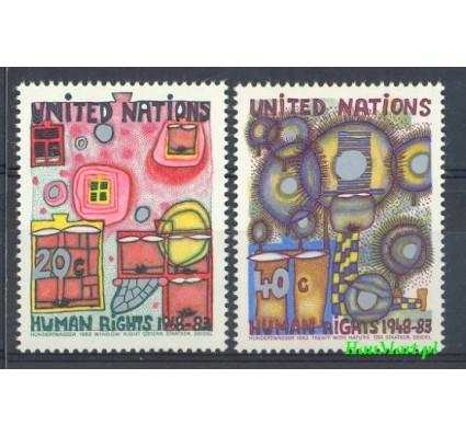 Znaczek Narody Zjednoczone Nowy Jork 1983 Mi 438-439 Czyste **
