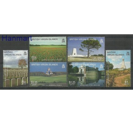 Znaczek Wyspy Dziewicze 2008 Mi 1181-1186 Czyste **