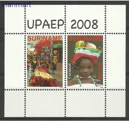 Znaczek Surinam 2008 Mi bl 105 Czyste **