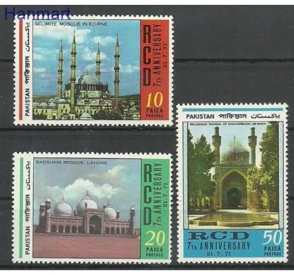 Znaczek Pakistan 1971 Mi 308-310 Czyste **