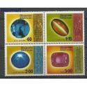 Sri Lanka 1975 Mi 456-459 Czyste **