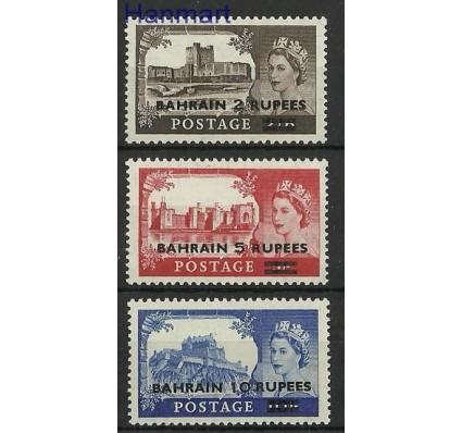 Znaczek Bahrajn 1955 Mi 96-98 Czyste **
