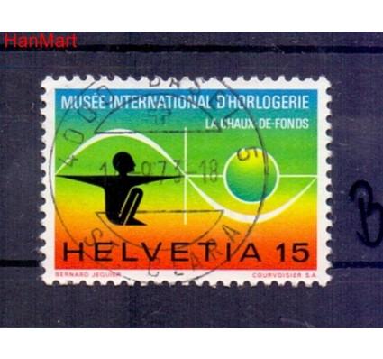 Znaczek Szwajcaria 1973 Stemplowane