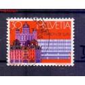 Szwajcaria 1974 Stemplowane