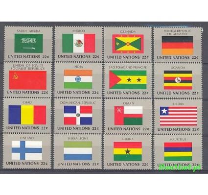 Znaczek Narody Zjednoczone Nowy Jork 1985 Mi 472-487 Czyste **