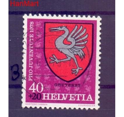 Znaczek Szwajcaria 1978 Stemplowane