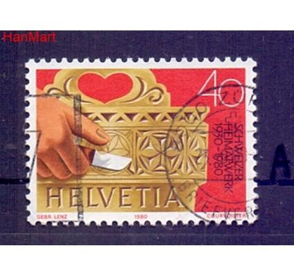 Znaczek Szwajcaria 1980 Stemplowane