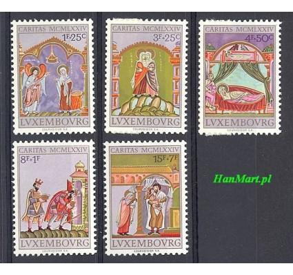 Znaczek Luksemburg 1974 Mi 893-897 Czyste **