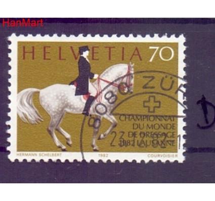Znaczek Szwajcaria 1982 Stemplowane