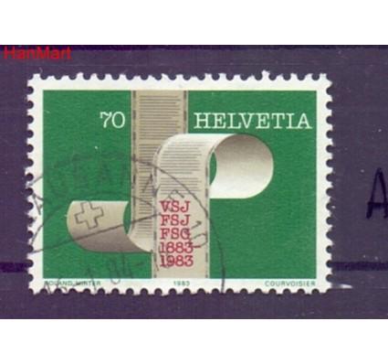 Znaczek Szwajcaria 1983 Stemplowane