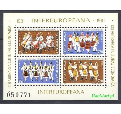 Znaczek Rumunia 1981 Mi bl 179 Czyste **