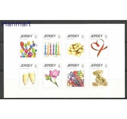 Znaczek Jersey 2012 Mi fol 1654-1661 Czyste **