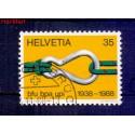 Szwajcaria 1988 Stemplowane