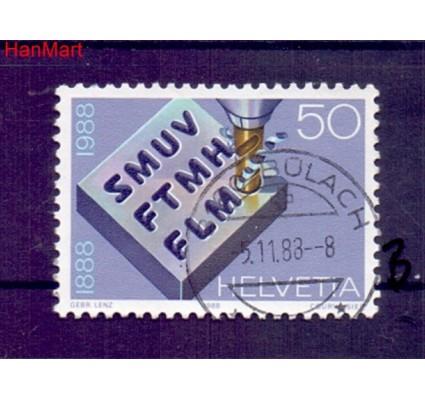 Znaczek Szwajcaria 1988 Stemplowane