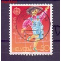 Szwajcaria 1989 Stemplowane
