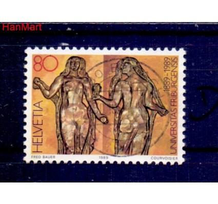 Znaczek Szwajcaria 1989 Stemplowane