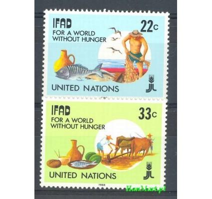 Znaczek Narody Zjednoczone Nowy Jork 1988 Mi 544-545 Czyste **