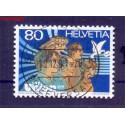 Szwajcaria 1991 Stemplowane
