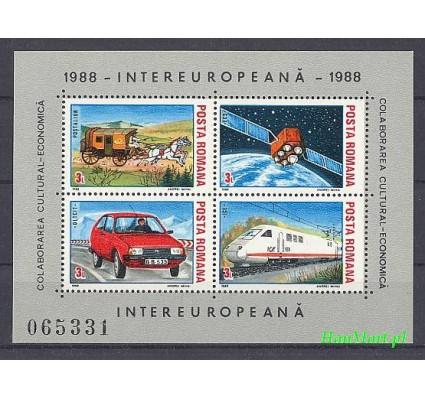 Znaczek Rumunia 1988 Mi bl 239 Czyste **