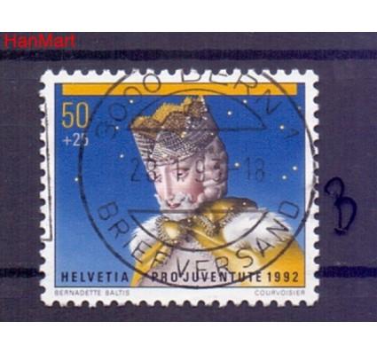 Znaczek Szwajcaria 1992 Stemplowane