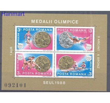 Znaczek Rumunia 1988 Mi bl 251 Czyste **