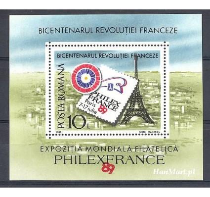 Znaczek Rumunia 1989 Mi bl 256 Czyste **