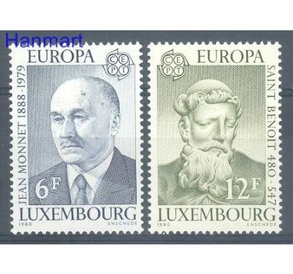 Znaczek Luksemburg 1980 Mi 1009-1010 Czyste **