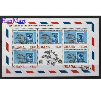 Znaczek Ghana 1974 Mi ark 551 Czyste **